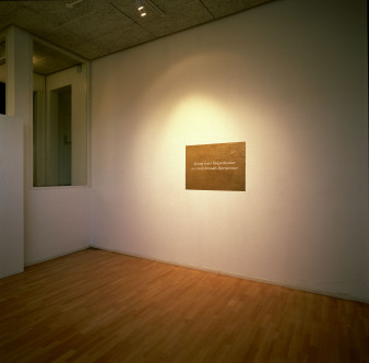 The Exhibition of Ívar Valgarðsson is in the Courtesy of Þóroddur Bjarnason ( 2003 )