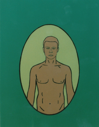 Self Portrait in perfectly clean colors. ( 1997 )