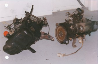 Two Car Engines  (1996 )