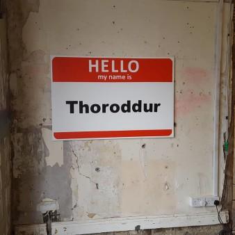 Hello - My name is Thoroddur ( 2018 )